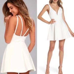 Lulu's White Dress